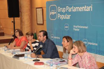 Bauzá parla en ferm de reduir el nombre de diputats al Parlament