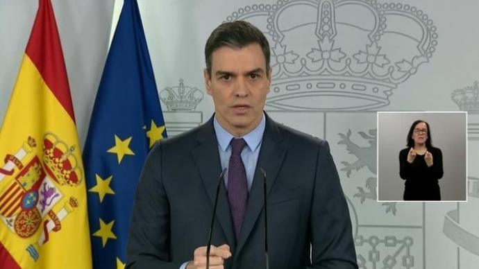 El Govern espanyol prorrogarà l'estat d'alarma 15 dies més, fins el 26 d'abril