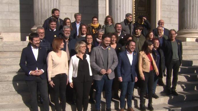 El Grup d'ERC-EH Bildu proposa que s'eliminin les dietes de tots els parlamentaris