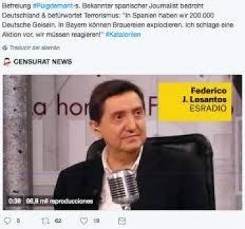 Dos anys de silenci còmplice amb les amenaces de l'ultranacionalista Dos Santos