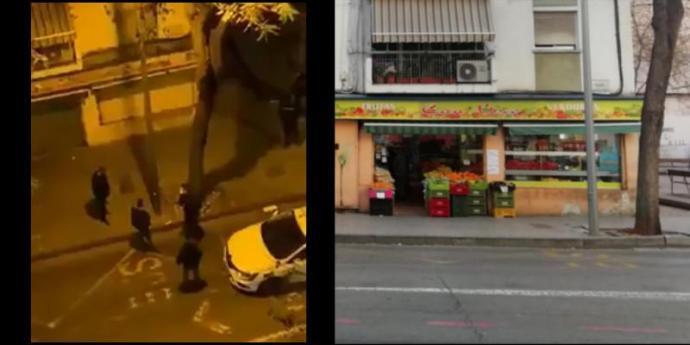 La Policia posa en dubte que el vídeo d'un agent agredint un ciutadà sigui a Palma... Però dBalears ho demostra amb fotografies