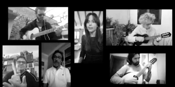 [VÍDEO] Al-Mayurqa s'ajunta virtualment per a cantar-li a l'amistat