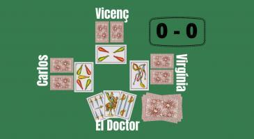 """La jugada de la setmana, quart repte. En la situació de la imatge, en Vicenç fa senya de mort, que hauria de fer """"El Doctor"""" (tant si truca com si no)?"""