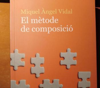 L'escriptor Miquel Àngel Vidal publica 'El mètode de composició'