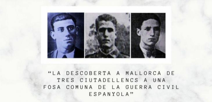 Can Saura acollirà una conferència sobre la descoberta de tres ciutadellencs a una fosa de Mallorca