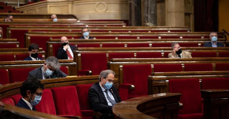 El Parlament català declara que Catalunya és republicana i que no reconeix cap rei