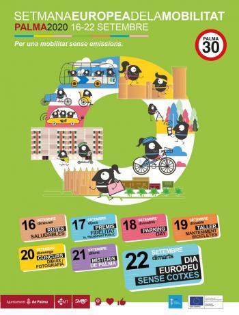 Palma acull des d'aquest dimecres i fins el dia 22 la Setmana Europea de la Mobilitat