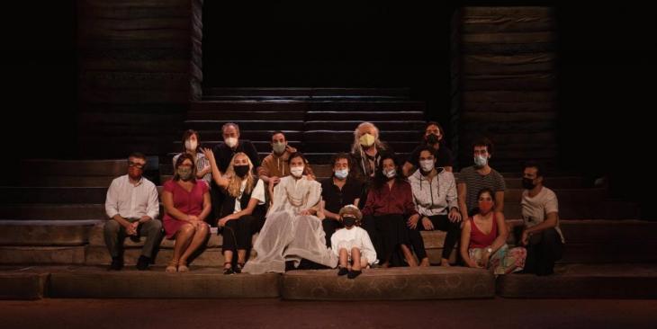 El Teatre Principal estrena 'Clitemnestra', de Colm Tóibín, dirigida per Agustí Villaronga