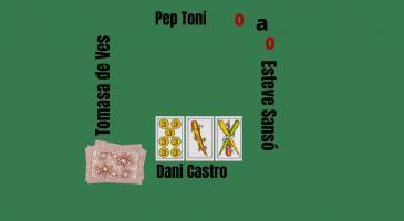 En Pep toni fa senya de mort, si fóssiu en Dani Castro, què jugaríeu?