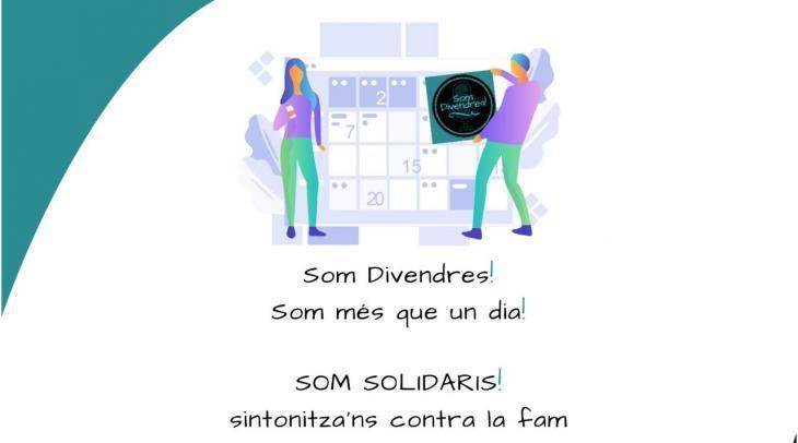 El programa Som Divendres d'Ona Mediterrània arriba als 100 programes i ho celebra amb una acció solidària amb els més desafavorits
