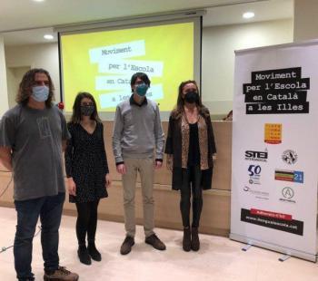 [VÍDEO] El Moviment per l'Escola en Català a les Illes insta el Parlament a blindar la llengua més enllà de les aules