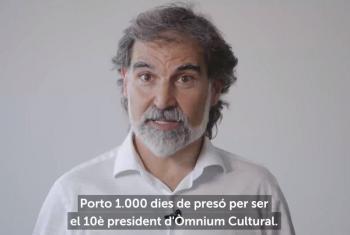 Jordi Cuixart, en presó per escarni de Madrid