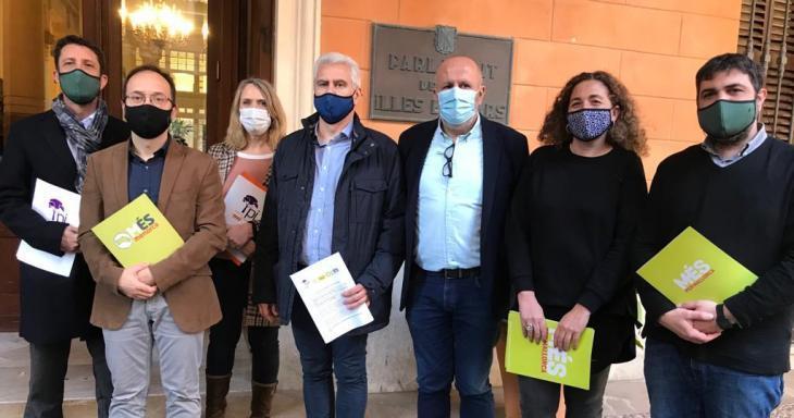 El Pi, MÉS per Mallorca i Més per Menorca insten el Parlament a presentar un recurs d'inconstitucionalitat contra els PGE