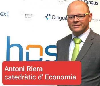 [ÀUDIO] Antoni Riera: «La recuperació de l'economia a les Illes Balears serà en forma d'U amb una base allargada»