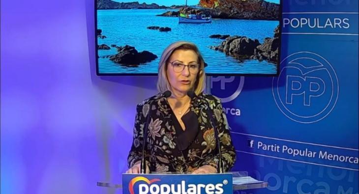 Sugrañes és reelegida presidenta del PP de Menorca: «Som una alternativa real enfront del desori que ara tenim»