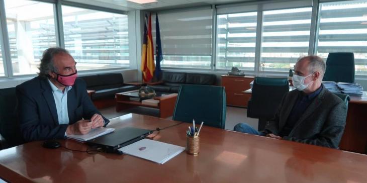 Jaume Carot, candidat a rector de la UIB presenta el seu programa a Martí March