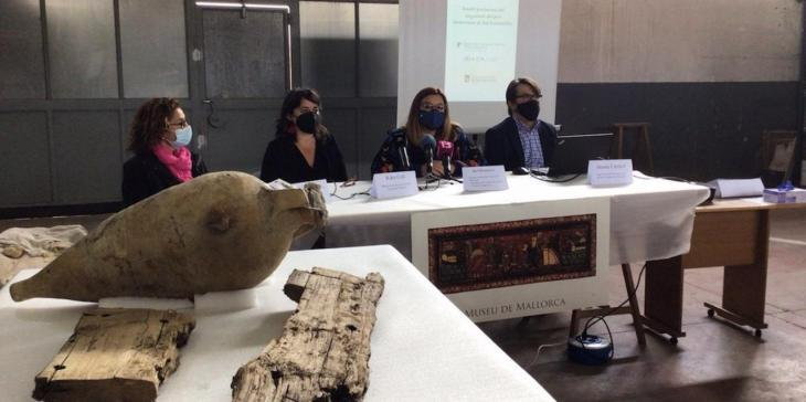 El derelicte de ses Fontanelles donarà nom a una àmfora romana, localitzada per primera vegada a Mallorca