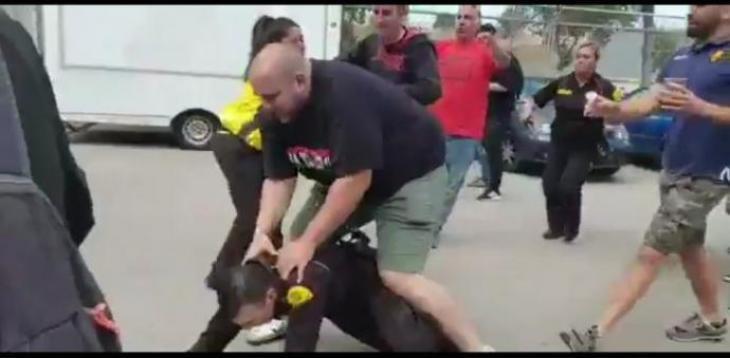 L'ultra Mateu Marimon Roman, multat amb només 1.260 euros per haver apallissat un vigilant de seguretat a Son Moix