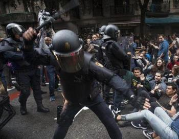 L'Audiència de Barcelona rebutja investigar el cap dels antiavalots de la Policia espanyola per les càrregues durant l'1-O