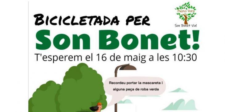 Pulmó Verd organitza una bicicletada per Son Bonet