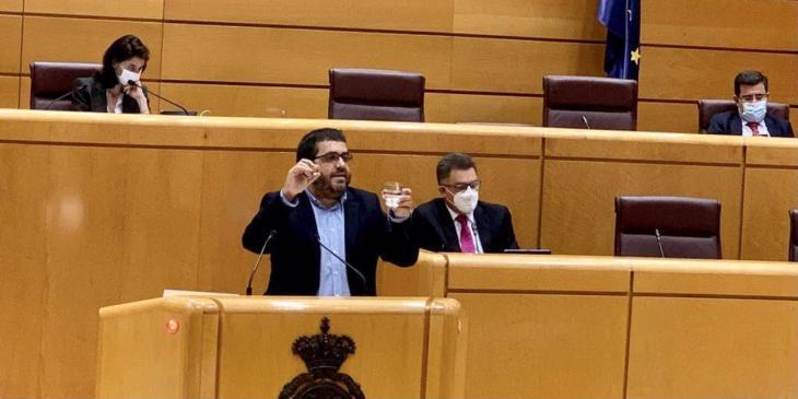 Vidal: «El ministre Ábalos no contesta per què compleixen amb el finançament de transport de viatgers amb Canàries i no amb les Illes Balears?»