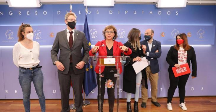El Congrés espanyol tomba la tramitació de la llei d'amnistia