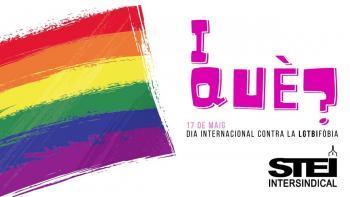 L'STEI Intersindical reafirma el seu compromís contra la LGTBIfòbia