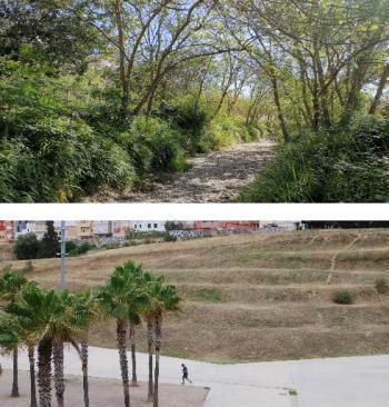 Sa Riera versus parc de sa Riera