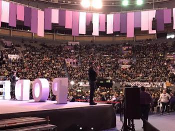 Una delegació de 40 càrrecs i militants de Podemos Balears viatja a Madrid per a participar en l'assemblea que decidirà el relleu de Pablo Iglesias
