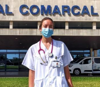 La doctora Elena Escudero guanya el primer premi del Concurs Nacional de Casos Clínics