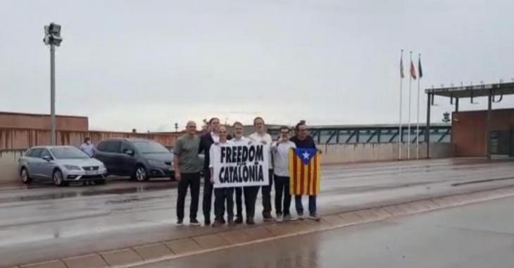 Alliberen els presos polítics indultats