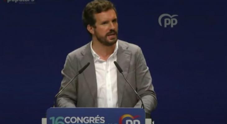 [VÍDEO] Pablo Casado s'apunta al secessionisme lingüístic: «En 'Baleares' no habláis catalán» i «no sois Països Catalans»