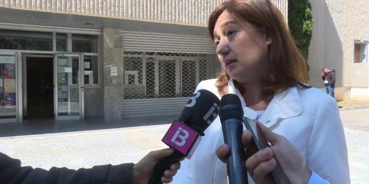 Armengol respon les 'lliçons' d'Ayuso: «Les Balears tengueren un excés de mortalitat del 0,3% el 2020, Madrid, del 37%»