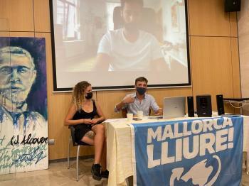 Valtònyc i Marcel Vivet: «El grau de repressió de l'Estat espanyol és immens i fa falta militància»