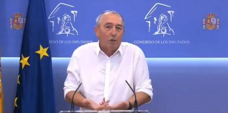 [VÍDEO] Baldoví (Compromís): «Parlaré en palentí perquè el senyor Pablo Casado m'entengui»