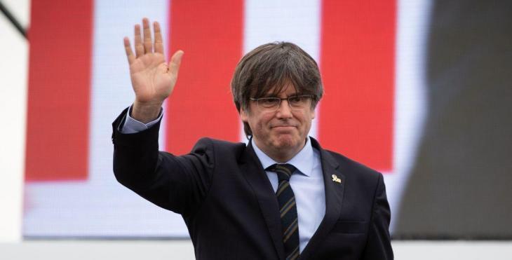 El tribunal de Sardenya deixa en llibertat Carles Puigdemont