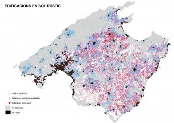 Terraferida denuncia que l'edificació del sòl rústic podria fer minvar la superfície agrària de Mallorca al voltant d'un 25%