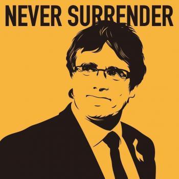 President Puigdemont, estic amb vós