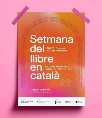 Arriba la 32a Setmana del Llibre en Català amb el lema 'Llegeix com vius' que reivindica l'ús de la llengua en la literatura i en el dia a dia