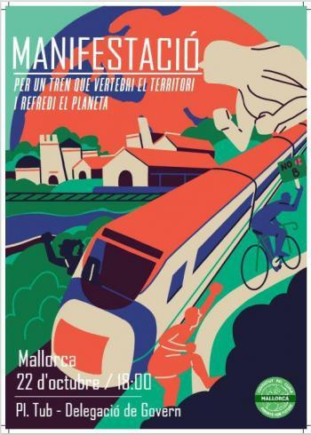 Convoquen una manifestació en favor de la mobilitat sostenible