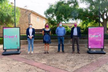 L'art surt al carrer: Marratxí celebra la mostra d'art jove 'Crear't'