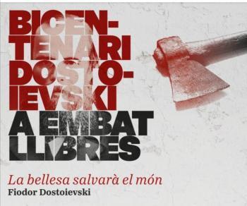 La llibreria Embat celebra aquest novembre el Bicentenari Dostoievski
