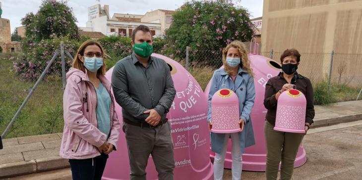 Santanyí presenta la campanya solidària en contra del càncer de mama 'Recicla Vidre per elles'